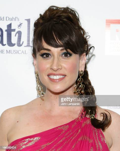 Lesli Margherita attends 'Matilda The Musical' Broadway Opening Night after party at the Marriott Marquis Hotel on April 11 2013 in New York City