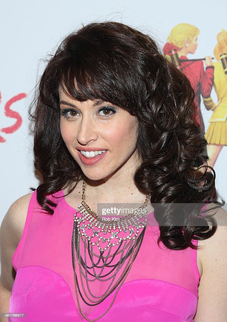 Lesli Margherita attends the off Broadway opening night of 'Heathers The Musical' at New World Stages on March 31, 2014 in New York City.