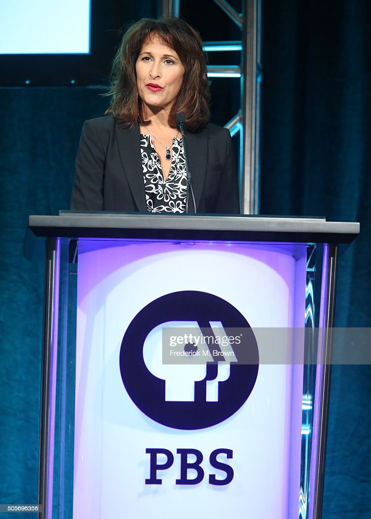 Lesli Rotenberg general manager Children's Media PBS speaks onstage during the 'Ready Jet Go' press conference as part of the PBS portion of the 2016...