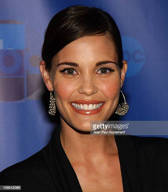 Leslie Bibb during ABC AllStar Party at Astra West in West Hollywood California United States