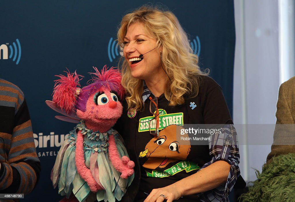 Leslie CarraraRudolph 'Abby Cadabby' attends SiriusXM's Town Hall with original cast members from Sesame Street commemorating the 45th anniversary of...