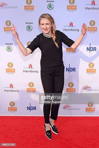 Leslie Clio attends Echo Jazz Award 2014 ceremony at Kampnagel on May 22 2014 in Hamburg Germany