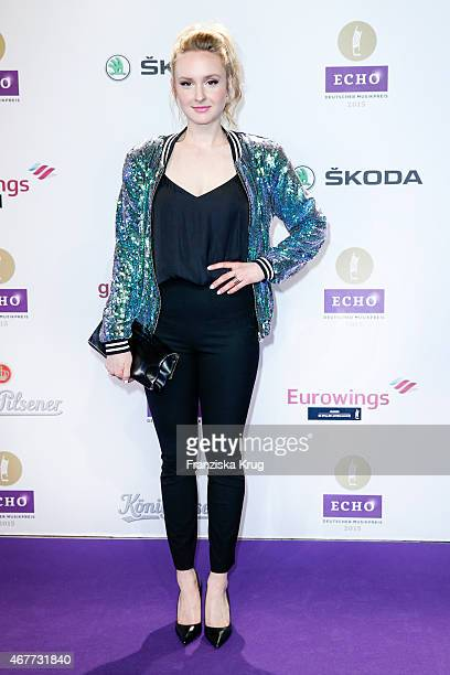 Leslie Clio attends the Echo Award 2015 on March 26 2015 in Berlin Germany