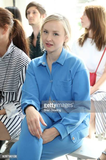Leslie Clio attends the Hien Le show during the MercedesBenz Fashion Week Berlin Spring/Summer 2018 at Kaufhaus Jandorf on July 6 2017 in Berlin...