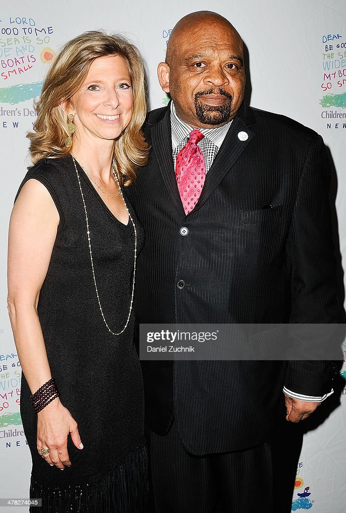 Leslie Cornfeld and George Gresham attend the 40th Anniversary Children's Defense Fund 'Beat The Odds' Gala at The Pierre Hotel on March 12, 2014 in New York City.