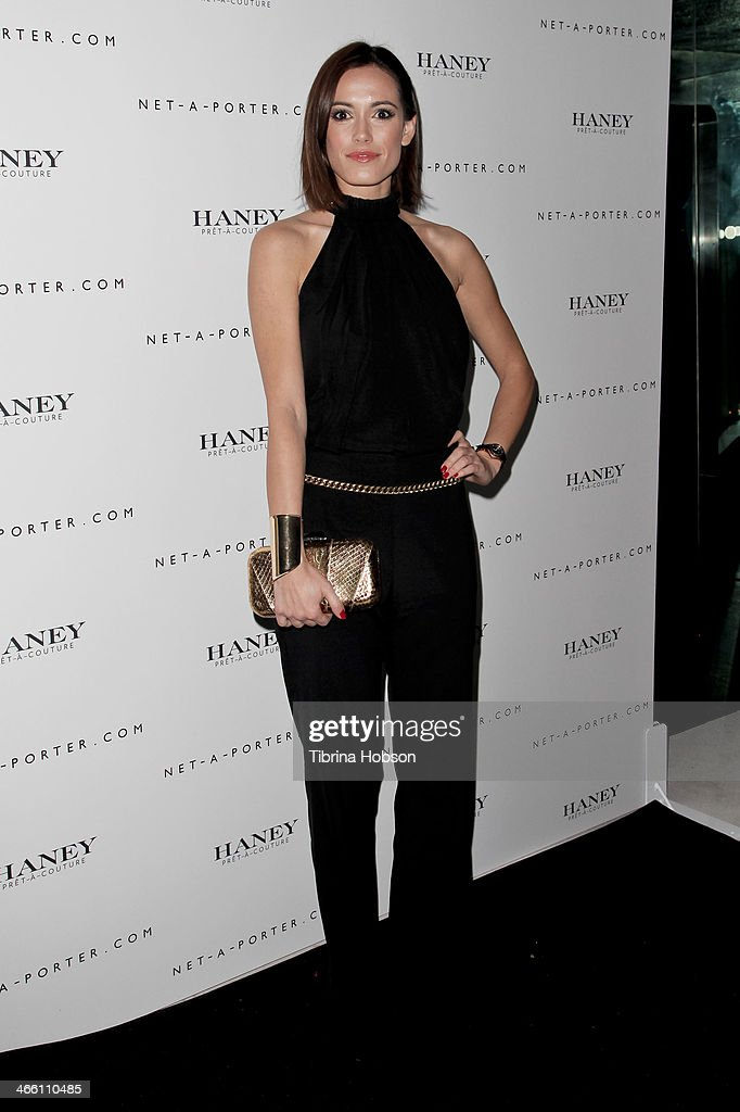 Leslie Coutterand attends the Haney Pret-A-Couture launch hosted by Net-A-Porter at mmhhmmm at The Standard, Hollywood on January 30, 2014 in West Hollywood, California.