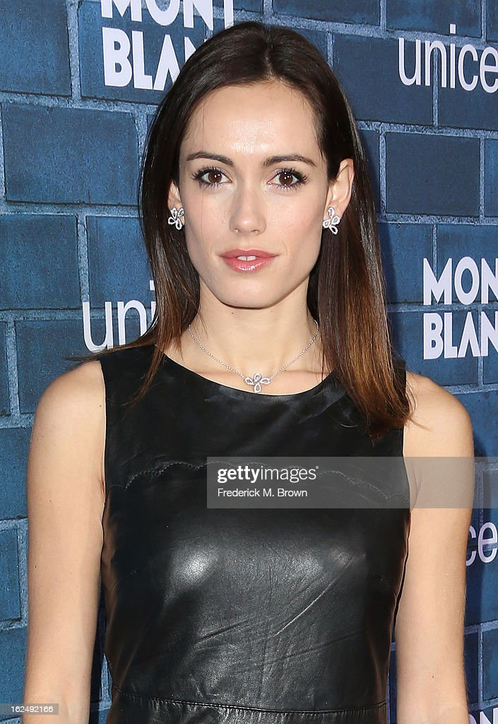 Leslie Coutterand attends the Montblanc And UNICEF Host Pre-Oscar Brunch Celebrating Their Limited Edition Collection at the Hotel Bel-Air on February 23, 2013 in Los Angeles, California.