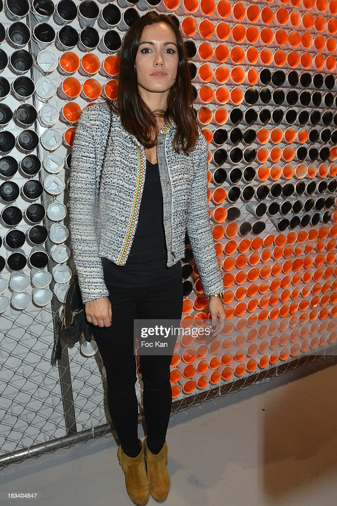 Leslie Coutterand attends the Reebok Ephemeral Beaubourg Flagship Store Opening Party at LÕImprimerie October 4, 2012 in Paris, France.