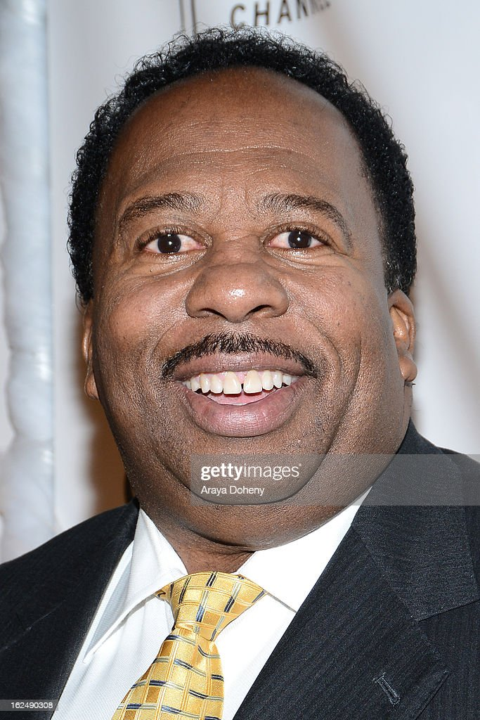 <a gi-track='captionPersonalityLinkClicked' href=/galleries/search?phrase=Leslie+David+Baker&family=editorial&specificpeople=841061 ng-click='$event.stopPropagation()'>Leslie David Baker</a> arrives at the 1st Annual Borgnine Movie Star Gala at Sportsmen's Lodge on February 23, 2013 in Studio City, California.