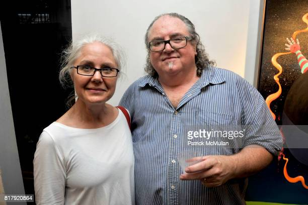 Leslie Dennis and Thom Fogerty attend Opening Reception for MARK DeMAIO's 'Absurd Notions' at Synchronicity Space on September 8th 2010 in New York...