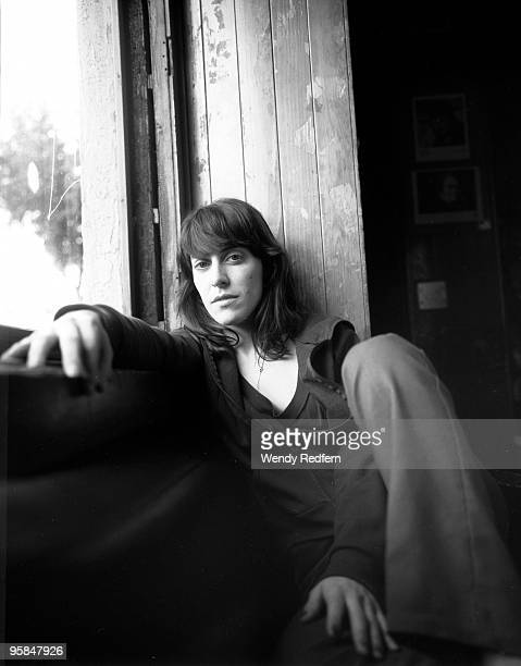 Leslie Feist of Feist poses for a portrait session on April 2 2005 in Los Angeles California