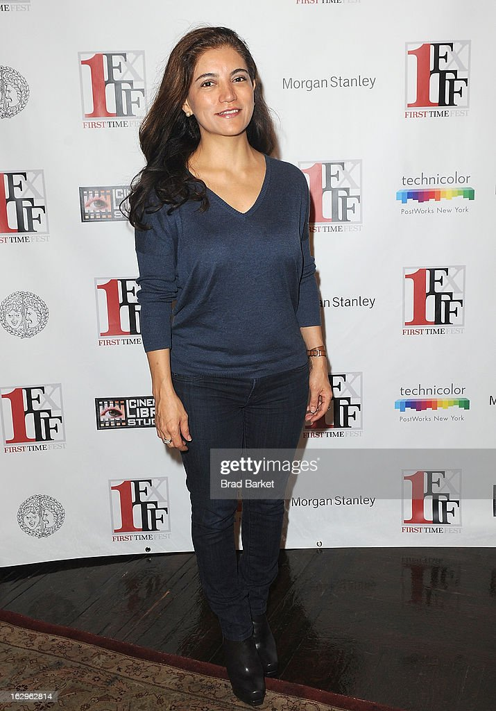 Leslie Fields-Cruz attends Diversity In Cinema during the 2013 First Time Fest at THE PLAYERS on March 2, 2013 in New York City.