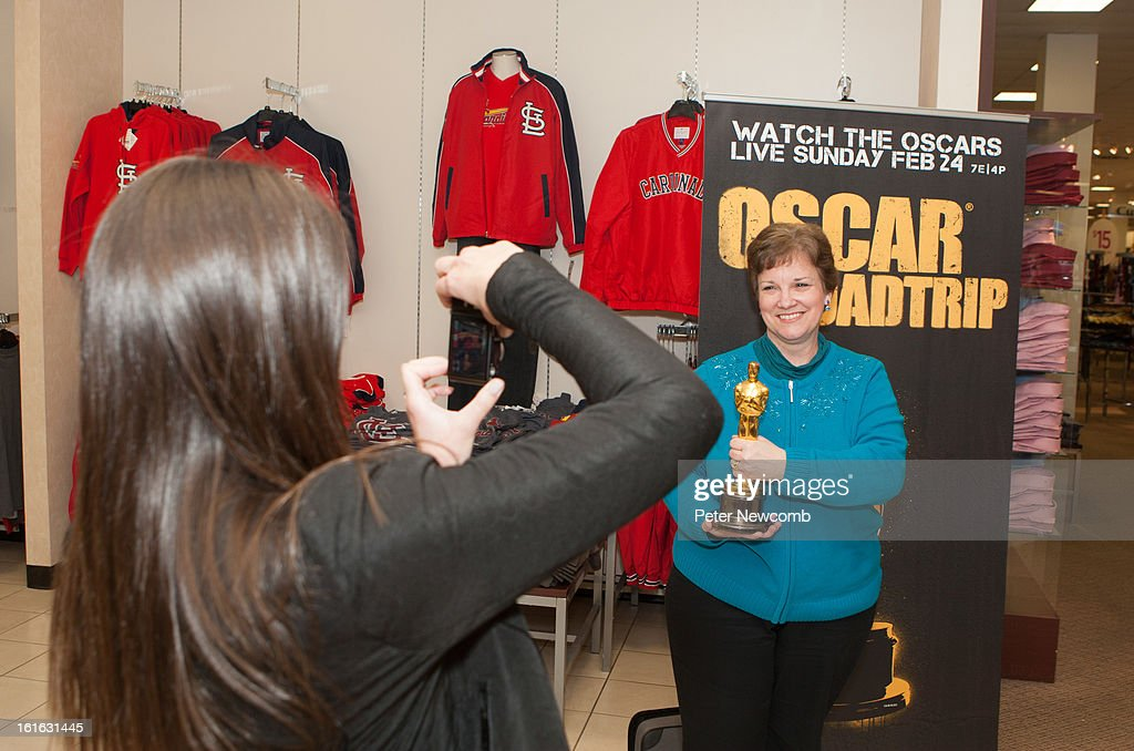 Leslie Fitzpatrick attends first-ever Oscar Roadtrip at on February 13, 2013 in St Louis City.