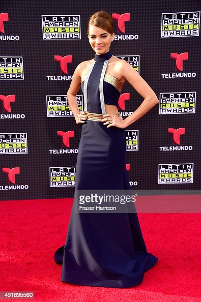 Leslie Grace attends Telemundo's Latin American Music Awards at the Dolby Theatre on October 8 2015 in Hollywood California