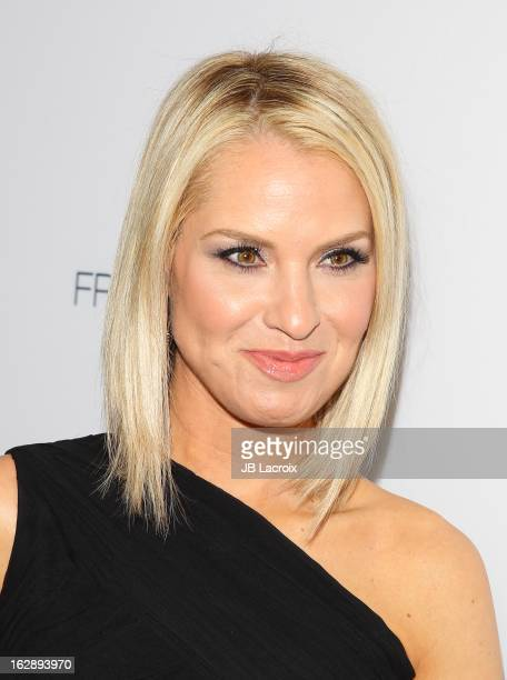 Leslie Grossman attends the Dukes Of Melrose launch hosted by Decades and Harper's BAZAAR at The Terrace at Sunset Tower on February 28 2013 in West...