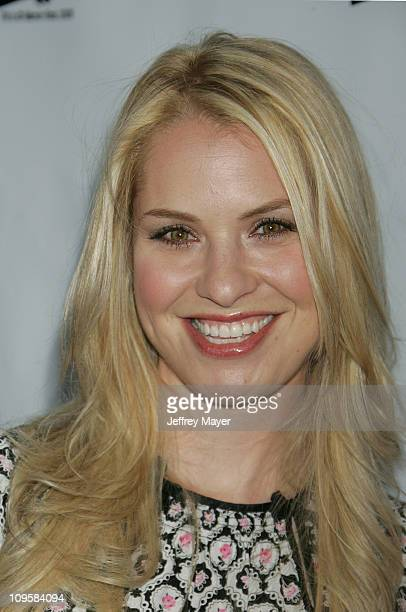 Leslie Grossman during 2005 WB Network's All Star Celebration Arrivals at The Cabana Club in Hollywood California United States