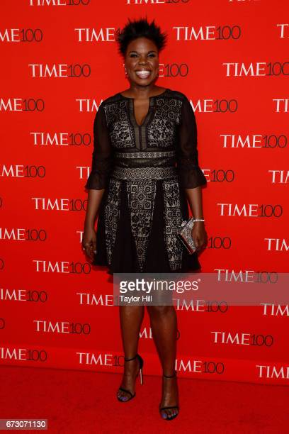 Leslie Jones attends the 2017 Time 100 Gala at Jazz at Lincoln Center on April 25 2017 in New York City