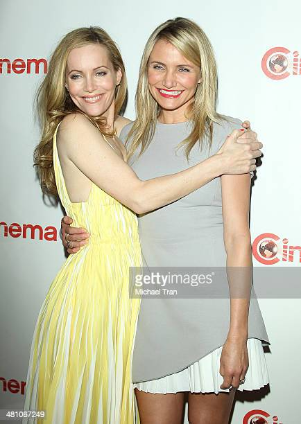 Leslie Mann and Cameron Diaz attend 20th Century Fox's Special Presentation at Cinemacon 2014 Day 4 held at The Colosseum at Caesars Palace on March...