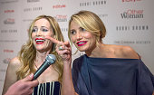 Leslie Mann and Cameron Diaz attend The Cinema Society Bobbi Brown with InStyle screening of 'The Other Woman' at The Paley Center for Media on April...
