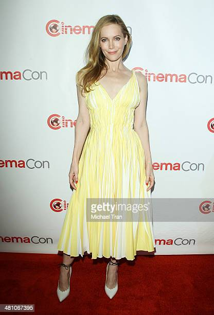 Leslie Mann attends 20th Century Fox's Special Presentation at Cinemacon 2014 Day 4 held at The Colosseum at Caesars Palace on March 27 2014 in Las...