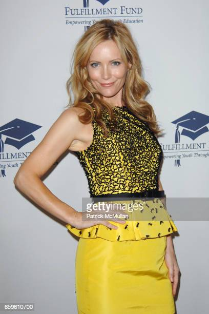 Leslie Mann attends FULFILLMENT FUND HONORS JUDD APATOW AND LESLIE MANN AT 2009 BENEFIT GALA at Beverly Hills Hotel on October 26 2009 in Beverly...