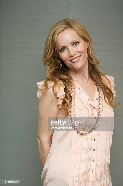 Leslie Mann attends the 'Funny People' press conference at Casa Del Mar on July 18 2009 in Santa Monica California