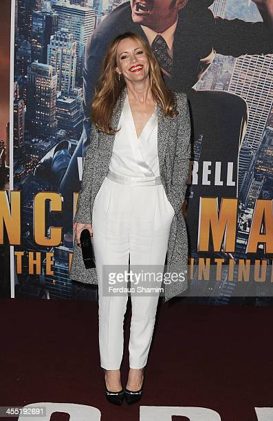 Leslie Mann attends the UK premiere of 'Anchorman 2 The Legend Continues' at Vue West End on December 11 2013 in London England