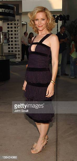 Leslie Mann during 'The 40YearOld Virgin' Los Angeles Premiere Red Carpet at Arclight Hollywood in Los Angeles California United States