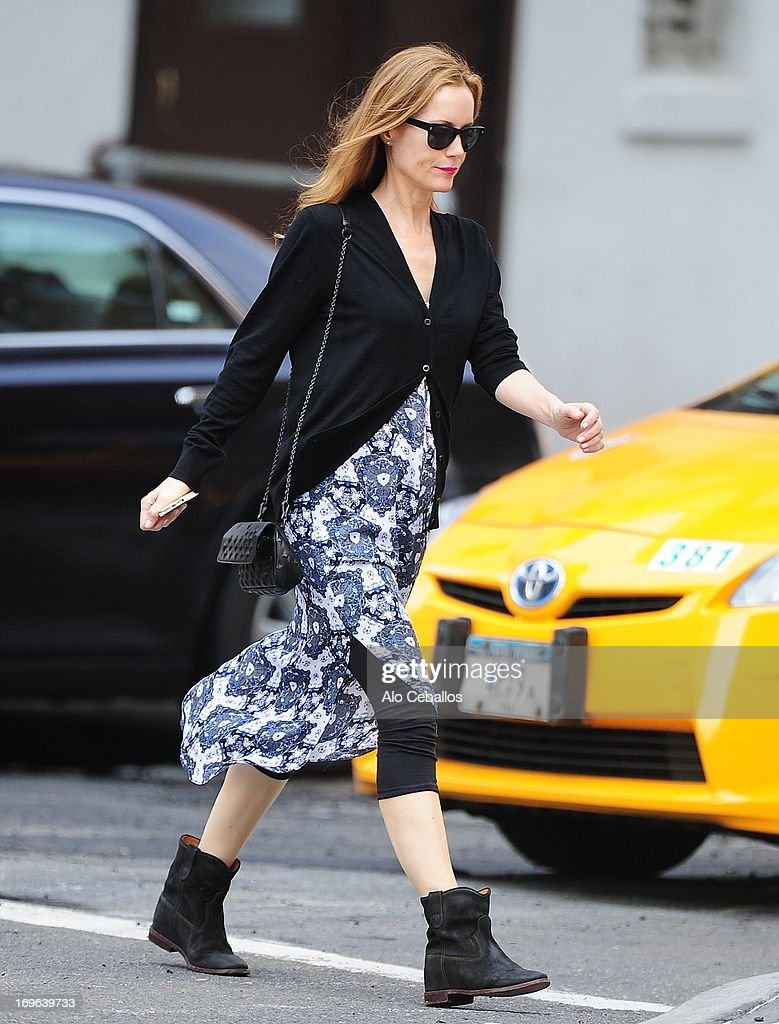 Leslie Mann is seen in Tribeca on May 29, 2013 in New York City.