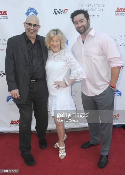 Leslie McClure and Brandon McClure attend the Entertainment AIDS Alliance's Annual EAA Wine Wisdom Vision Event Benefiting Village Health Foundation...