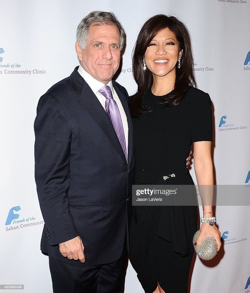 Leslie Moonves and <a gi-track='captionPersonalityLinkClicked' href=/galleries/search?phrase=Julie+Chen&family=editorial&specificpeople=206213 ng-click='$event.stopPropagation()'>Julie Chen</a> attend Saban Community Clinic's 37th annual benefit gala at The Beverly Hilton Hotel on November 25, 2013 in Beverly Hills, California.