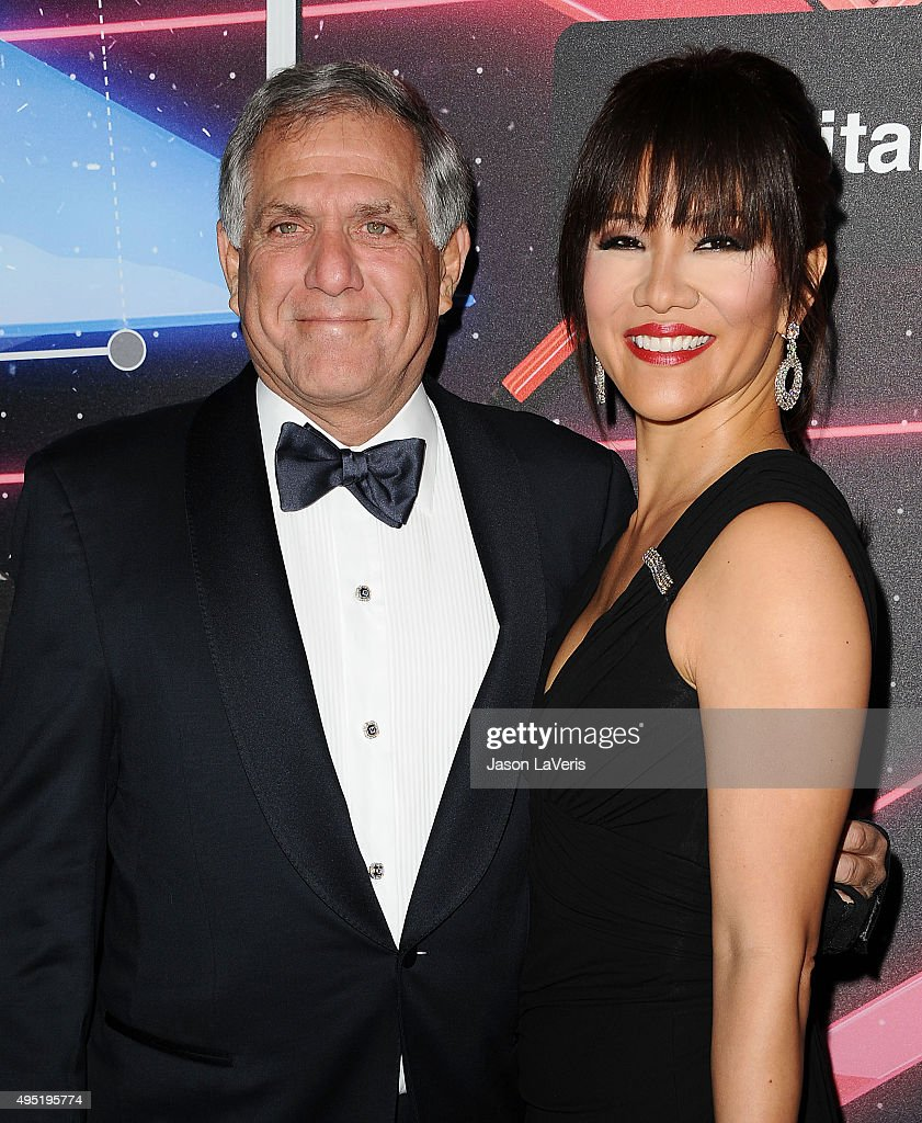 Leslie Moonves and Julie Chen attend the 2015 British Academy Britannia Awards at The Beverly Hilton Hotel on October 30 2015 in Beverly Hills...