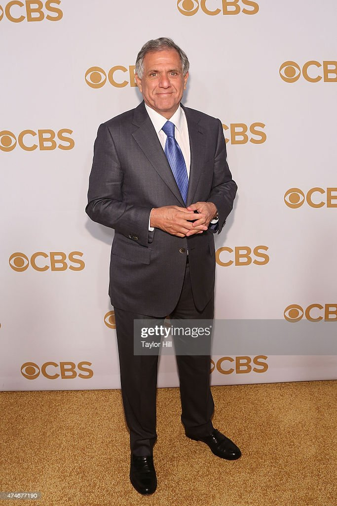 Leslie Moonves attends the 2015 CBS Upfront at The Tent at Lincoln Center on May 13 2015 in New York City