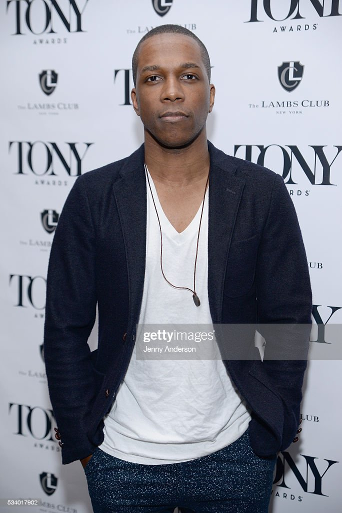 Leslie Odom Jr. arrives at A Toast To The 2016 Tony Awards Creative Arts Nominees at The Lambs Club on May 24, 2016 in New York City.