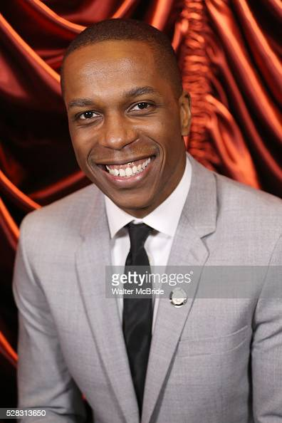 Leslie Odom Jr during the 2016 Tony Awards Meet The Nominees Press Reception at the Paramount Hotel on May 4 2016 in New York City