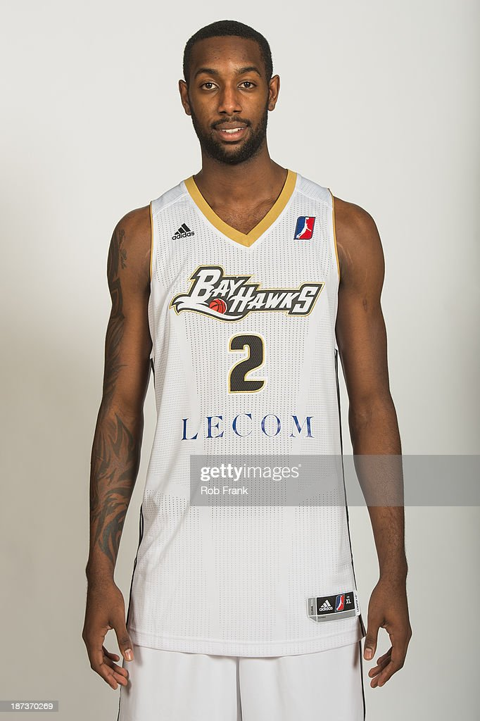 CJ Leslie #2 of the Erie Bayhawks poses for a portrait during media day on November 7, 2013 at the LECOM Fitness and Wellness Center in Erie, Pennsylvania.