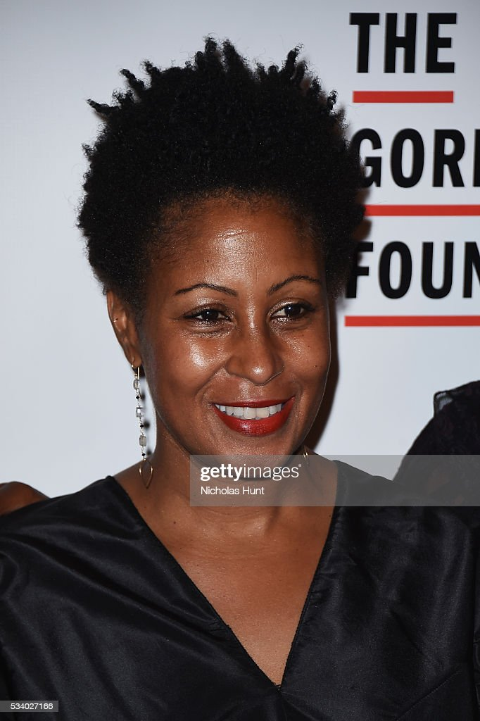 Leslie Parks attends the 2016 Gordon Parks Foundation awards dinner at Cipriani 42nd Street on May 24, 2016 in New York City.