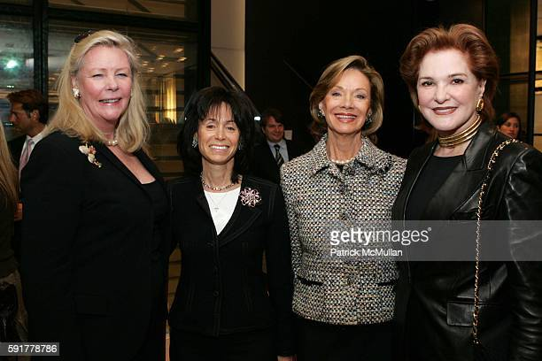 Leslie Perkins Wendy Carduner Jane Gammill and Gail Hilson attend The Camellia Luncheon Sponsored by Chanel to benefit The New York Botanical Garden...