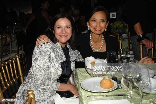 Leslie Stevens and Josie Natori attend National September 11 Memorial Museum Holds First Annual Notes of Hope Benefit Dinner at Cipriani Wall Street...