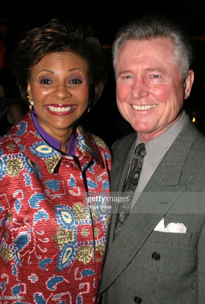 Leslie Uggams and husband Graham Pratt during Broadway's Plymouth and Royale Renamed as The Schoenfeld Theater and The Jacobs Theater at 45th Street...