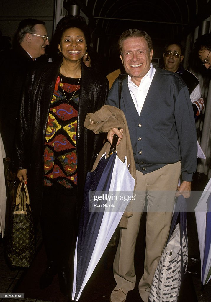 Leslie Uggams and Jerry Herman at Los Angeles International Airport - October
