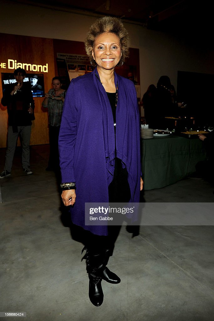 Leslie Uggams attend 'The Piano Lesson' Opening Night Party at Signature Theater Company's Peter Norton Space on November 18, 2012 in New York City.
