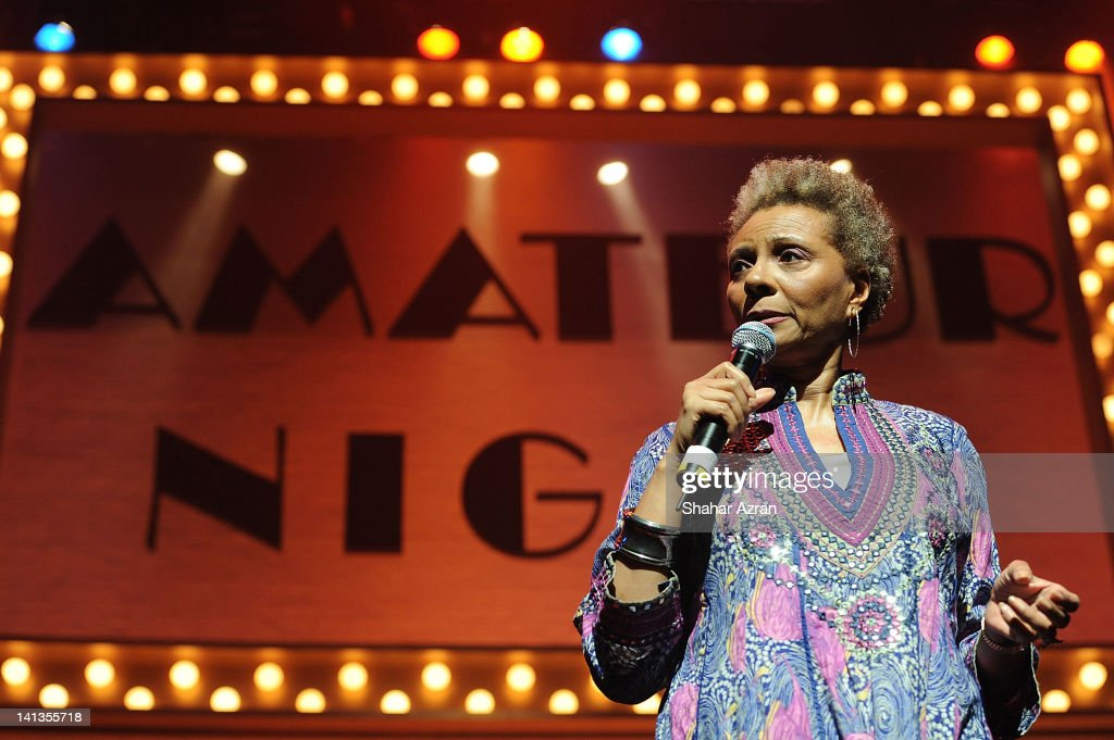 Leslie Uggams attends Amateur Night at the Apollo Broadway at The Apollo Theater on March 14 2012 in New York City