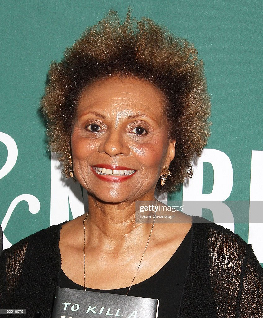 Leslie Uggams attends Harper Lee celebration at Barnes & Noble Union Square on July 13, 2015 in New York City.