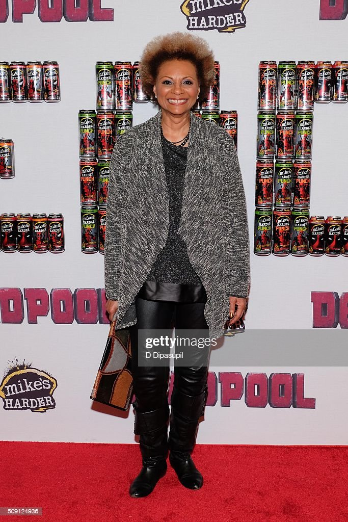 Leslie Uggams attends the 'Deadpool' fan event at AMC Empire Theatre on February 8 2016 in New York City