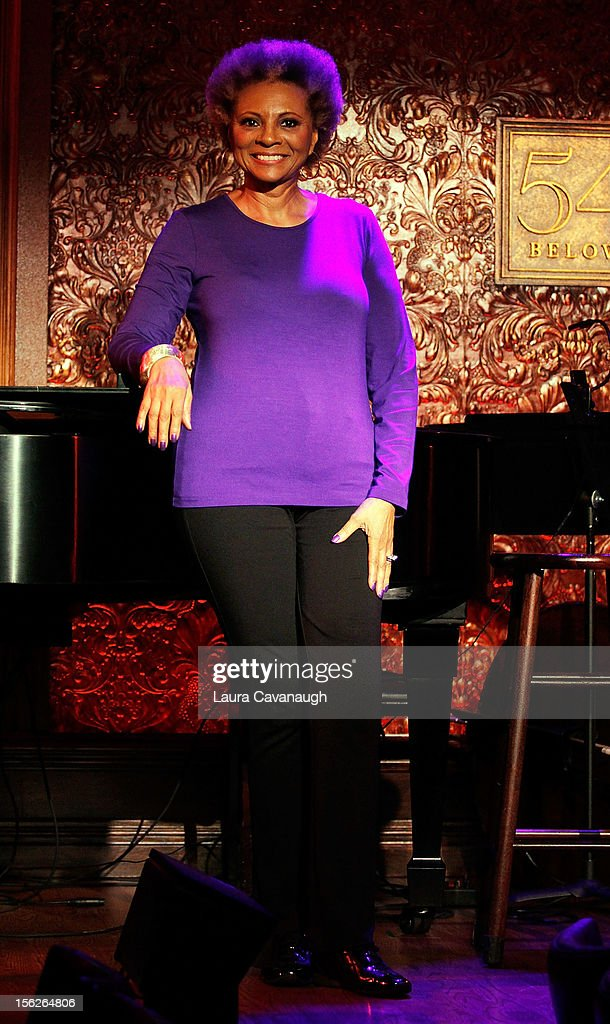 Leslie Uggams attends the press preview at 54 Below on November 12 2012 in New York City