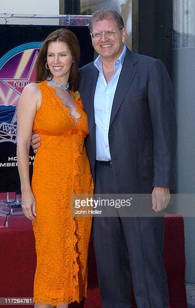 Leslie Zemeckis and Robert Zemeckis during Director Robert Zemeckis Honored with a Star on the Hollywood Walk of Fame for His Achievements in Film at...