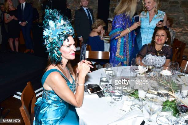 Leslie Zemeckis attend the Oceana New York Gala at Blue Hill at Stone Barns on September 13 2017 in Tarrytown New York