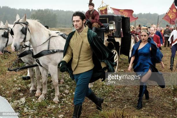 THE MAGICIANS 'Lesser Evils' Episode 209 Pictured Hale Appleman as Eliot Summer Bishil as Margo