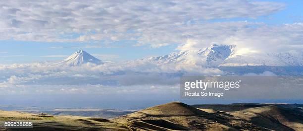 Lesser & greater Ararat mountains,Yerevan,Armenia